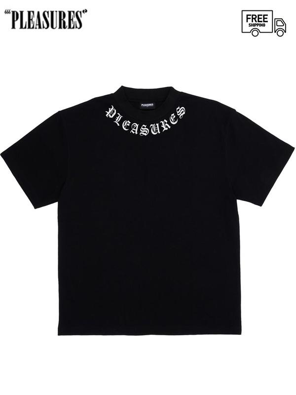 画像1: 【PLEASURES - プレジャーズ】Memento Heavyweight Tee / Black (Tシャツ/ブラック) (1)