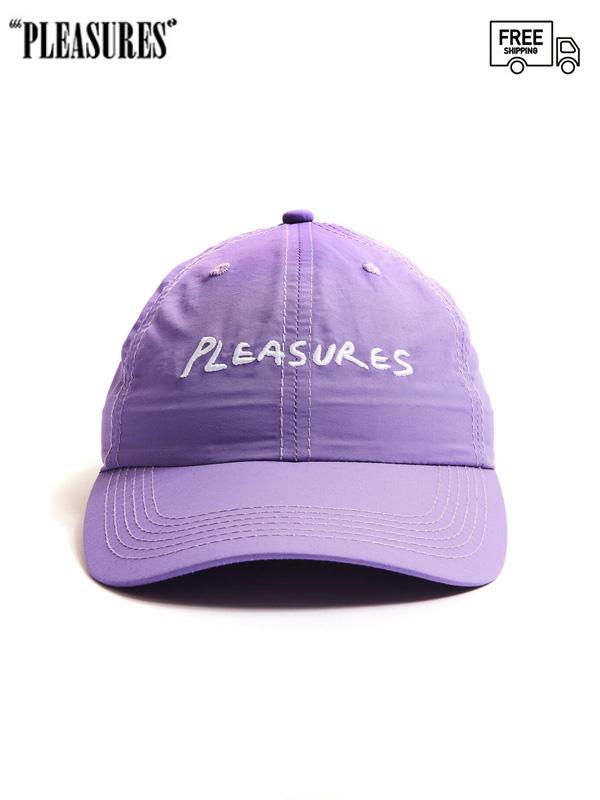画像1: 【PLEASURES - プレジャーズ】Hump Nylon Sport Cap / Purple (キャップ/パープル) (1)