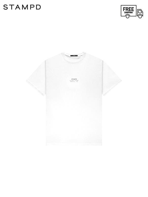 画像1: 【STAMPD - スタンプド】STCKD Logo Perfect tee / White (Tシャツ/ホワイト) (1)