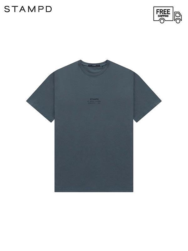 画像1: 【STAMPD - スタンプド】STCKD Logo Perfect tee / Grey (Tシャツ/グレー) (1)