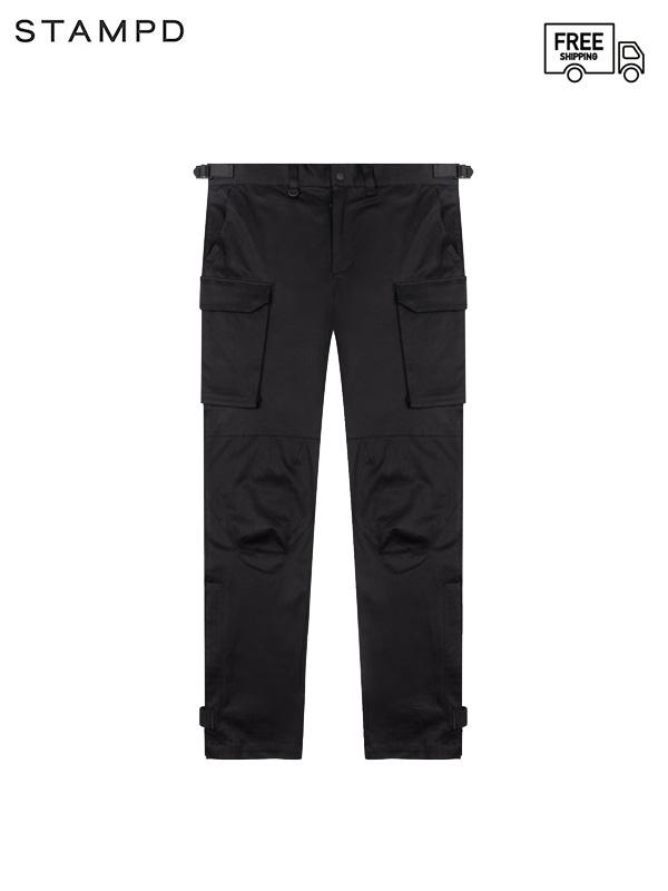 画像1: 【STAMPD - スタンプド】Drill Cargo Pant / Black (パンツ/ブラック) (1)