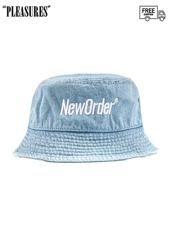 画像1: 【PLEASURES - プレジャーズ】REPUBLIC BUCKET HAT / Blue (ハット/ブルー) (1)