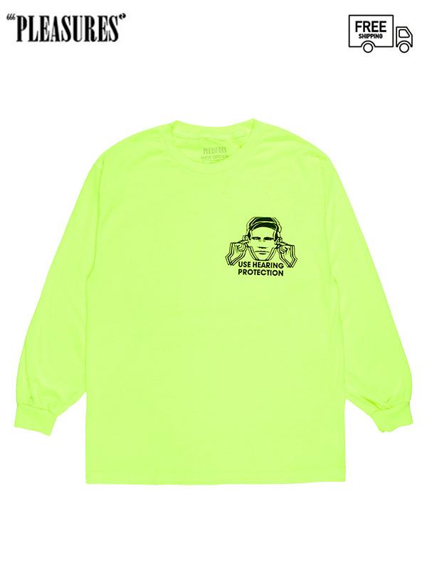 画像1: 【PLEASURES - プレジャーズ】FACTORY LONG SLEEVE/Green (Tシャツ/グリーン) (1)