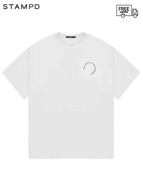 画像1: 【STAMPD - スタンプド】Terrain Relaxed Tee / White (Tシャツ/ホワイト) (1)
