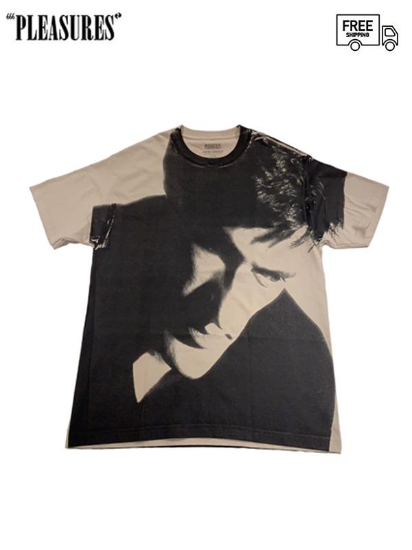 画像1: 【PLEASURES - プレジャーズ】LOW LIFE T-SHIRT/Beige (Tシャツ/ベージュ) (1)