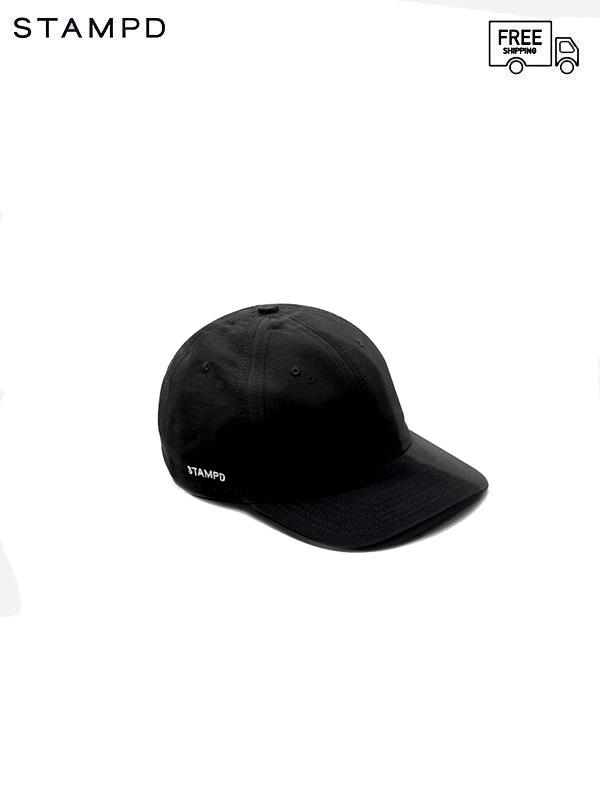 画像1: 【STAMPD - スタンプド】Matte Nylon Sport Cap /Black (キャップ/ブラック) (1)