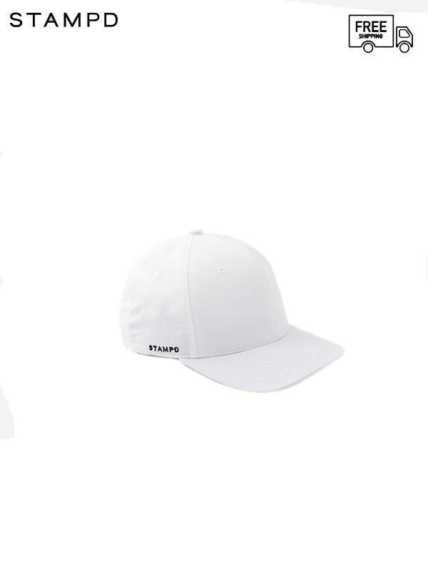 画像1: 【STAMPD - スタンプド】Matte Nylon Sport Cap /  White(キャップ/ホワイト) (1)