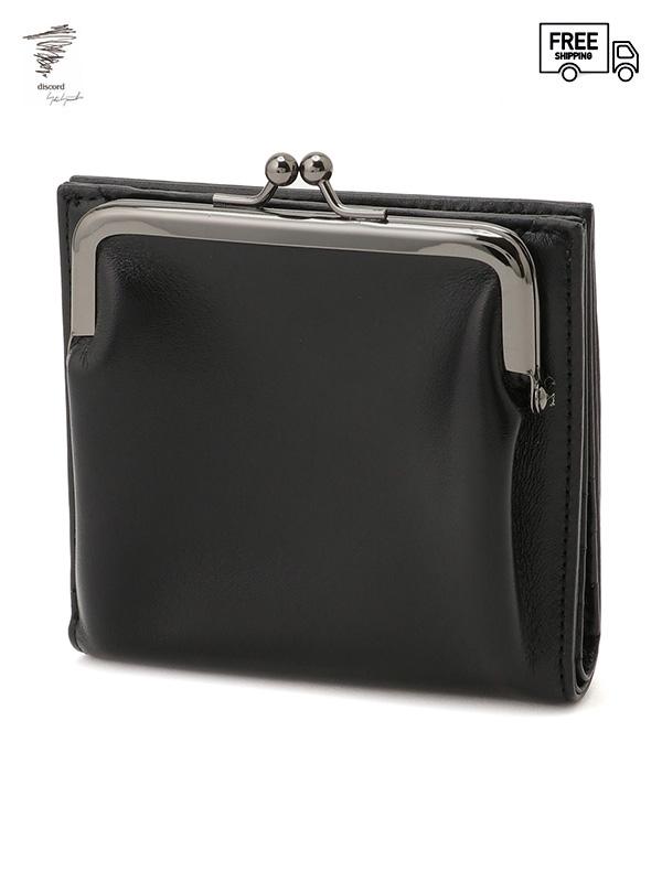 画像1: 【Discord Yohji Yamamoto  - ディスコード ヨウジヤマモト】Clasp wallet / Black (ウォレット/ブラック)  (1)